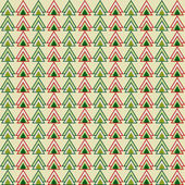 Green and red christmas colored triangles pattern geometric background for use in design — Stock Vector