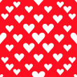 Hearts seamless pattern background for use in design for valentines day or wedding — Vector de stock  #63997213
