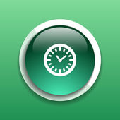 Watch clock icon time vector timer illustration  — Stock Vector
