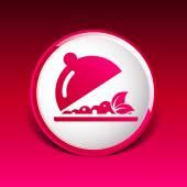 Menu design food cooking dishes  kitchen logo — Stock Vector