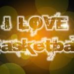 I Love Basketball Concept — Stock Photo #56215547