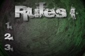 Rules Concept — Stock Photo