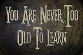 Temps d'apprendre la notion — Photo