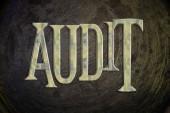 Audit Concept — Stock Photo