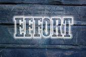 Effort Concept — Stock Photo