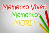Memento Viveri Memento Mori Concept — Stock Photo