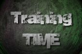 Training Time Concept — Stock Photo