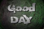 Concept de bonne journée — Photo