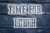 Time For Lunch Concept — Foto Stock