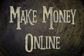 Make Money Online Concept — Stock fotografie