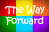 The Way Forward Concept — Stock Photo