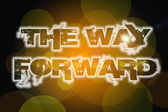 The Way Forward Concept — Stock Photo