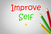 Improve Self Concept — Stockfoto