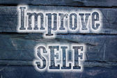 Improve Self Concept — Foto Stock