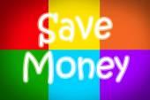 Ušetřit peníze koncept — Stock fotografie