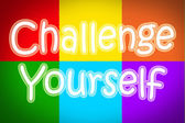 Challenge Yourself Concept — Foto de Stock