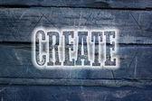 Create Concept — Stock fotografie