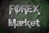 Forex Market Concept — Stock Photo