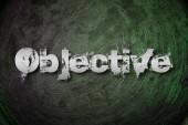 Objektivní pojem — Stock fotografie