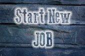 Start New Job Concept — Stockfoto
