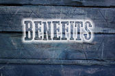 Benefits Concept — Stock Photo