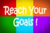 Reach Your Goals Concept — Stock Photo