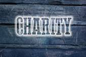 Concepto de la caridad — Foto de Stock
