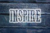 Inspire Concept — Stock Photo
