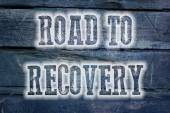 Road To Recovery Concept — Stock Photo