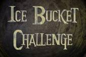 Ice Bucket Challenge Concept — Stock Photo
