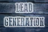 Lead Generation Concept — Stock Photo
