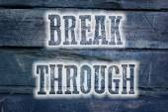 Break Through Concept — Stock Photo