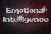 Emotional Intelligence Text on Background — Stock Photo