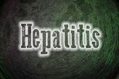Hepatitis Concept — Stock Photo