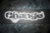 Change Text on background — Stock Photo