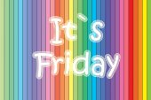 It's Friday Concept — Foto de Stock
