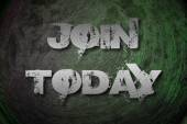 Join Today Concept — Stock Photo