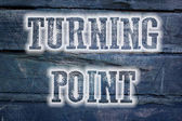 Turning Point Concept — Stock Photo