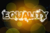 Equality Concept — Stock Photo