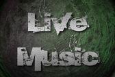 Live Music Concept — Stock Photo