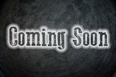 Coming Soon Concept — Stock Photo