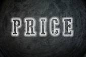 Price Concept — Stock Photo