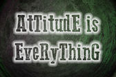 Attitude Is Everything Concept — Stock Photo
