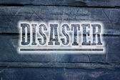 Disaster Concept — Stock Photo