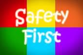 Primer concepto de seguridad — Foto de Stock
