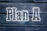 Plano de um conceito — Foto Stock