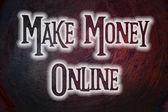 Ganhar dinheiro online — Fotografia Stock