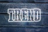 Trend Concept — Zdjęcie stockowe