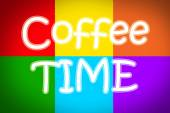 Coffee Time Concept — Stock Photo