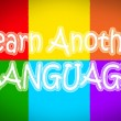 Learn Another Language Concept — Stock Photo #56301455